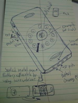 300 Series Portable Telephone