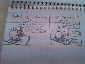 Linux desktop backgrounds are a joke.